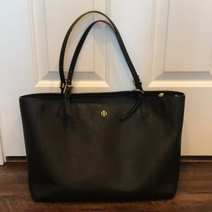 Tory Burch York Tote Black Large